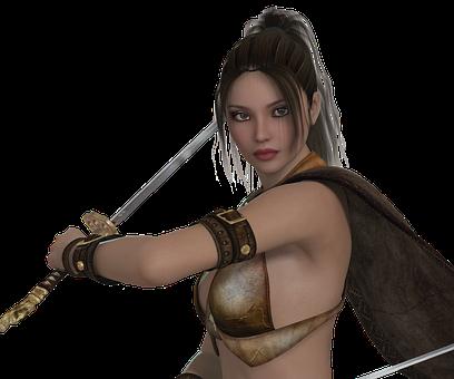 女性 戦士 ツインレイ