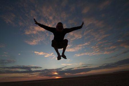 自由 跳躍