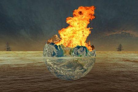 地球 大火