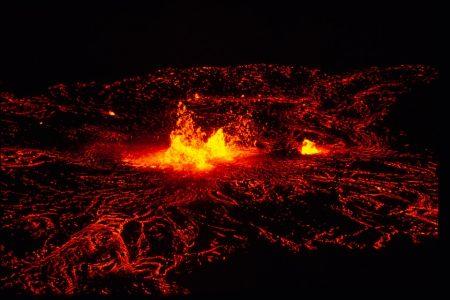 火山 解ける カルマ融解
