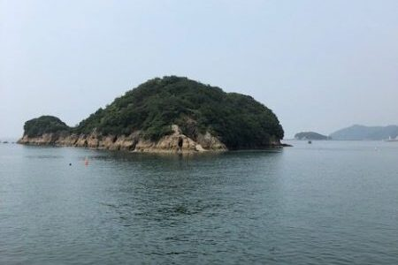 仙酔島 島